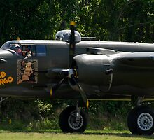 "B-25 ""Wild Cargo"" by Robert Burdick"