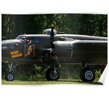 "B-25 ""Wild Cargo"" Poster"