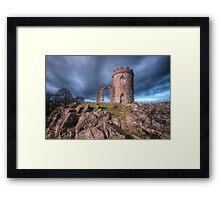 Old John Mug Tower 3.0 Framed Print