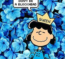 Lucy Peanuts Queen Edit by Livia Hughes