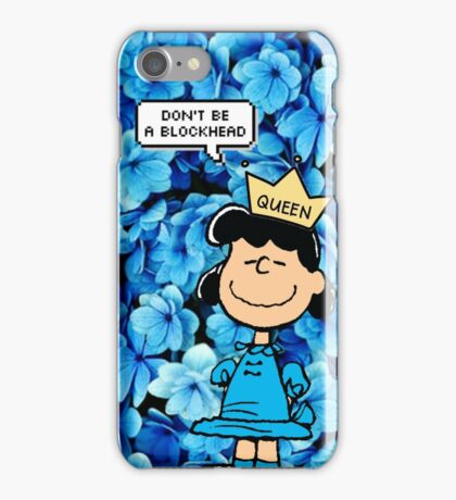 Lucy Peanuts Queen Edit iPhone Case/Skin