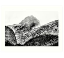 Mountains and Valleys of British Columbia  Art Print
