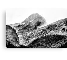 Mountains and Valleys of British Columbia  Canvas Print