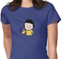 Smiley little girl (1) Womens Fitted T-Shirt