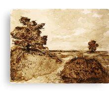 Forein Soil Canvas Print