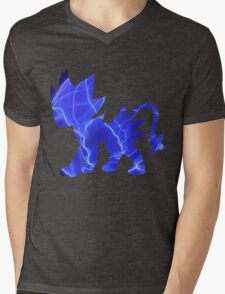 Luxray used discharge Mens V-Neck T-Shirt