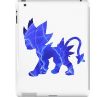 Luxray used discharge iPad Case/Skin