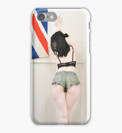 Booty in the UK iPhone Case/Skin