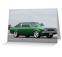 1978 Torana Hatchback Greeting Card