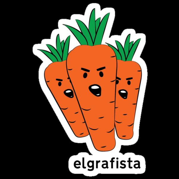 Carrot Crew Tee by ElGrafista