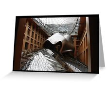 Building Wrangel by Frank Gehry. Greeting Card