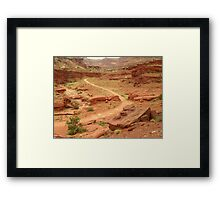 Country Roads of Canyonlands Utah Framed Print