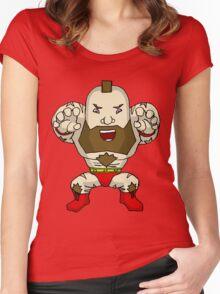 Chibi Zangief Women's Fitted Scoop T-Shirt