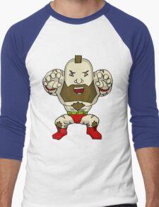 Chibi Zangief Men's Baseball ¾ T-Shirt