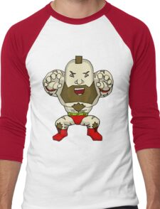 Chibi Zangief Men's Baseball ¾ T-Shirt