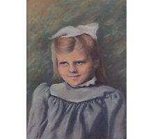 Little Girl, Long Ago Photographic Print