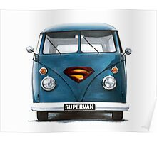 VW Supervan Split Screen Camper Poster