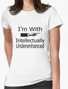 """""""politically correct"""" i'm with stupid (left) t T-Shirt"""