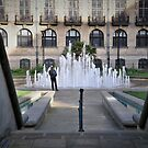 The Peace Gardens, Sheffield, England. by Tigersoul