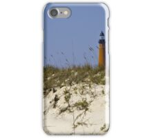 Beachview of Ponce Inlet Lighthouse iPhone Case/Skin