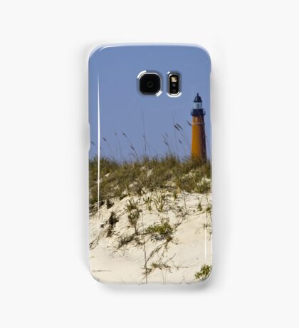 Beachview of Ponce Inlet Lighthouse Samsung Galaxy Case/Skin