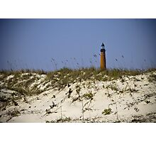 Beachview of Ponce Inlet Lighthouse Photographic Print
