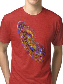 Tilt-a-Whirl. abstract by Alma Lee Tri-blend T-Shirt