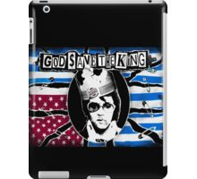 God Save The King iPad Case/Skin