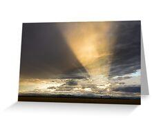 Sunset Flashlight Greeting Card