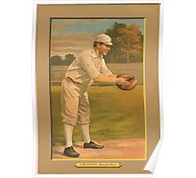Benjamin K Edwards Collection Peaches Graham Boston Rustlers baseball card portrait Poster
