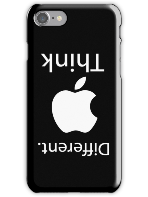 Think Different iPhone Case by Dsavage94