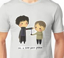 Three-patch problem. Unisex T-Shirt