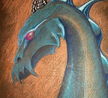 Dragon by Raluca Polea