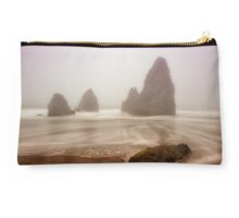 Fogged Out at Rodeo Beach Studio Pouch