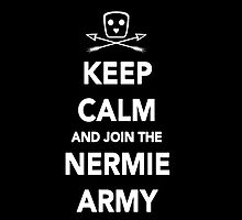 Nerimon - Keep Calm & Join The Nermie Army iPhone Case by Dsavage94