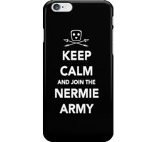 Nerimon - Keep Calm & Join The Nermie Army iPhone Case iPhone Case/Skin