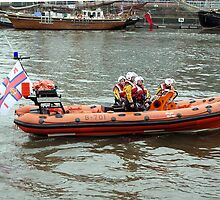 RNLI inshore rescue B-701 by Woodie