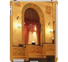 Balcony in Detroit Orchestra Hall in Michigan iPad Case/Skin