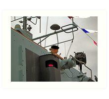 HMS Grimsby guard Art Print