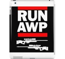 RUN AWP iPad Case/Skin