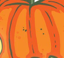 Pumpking Pattern Sticker