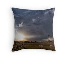 Til the Cows Come Home Throw Pillow