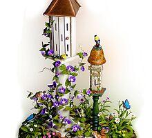 Butterfly House in the Garden by Rupert Mcgrath
