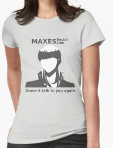 Social Link Maxed Womens Fitted T-Shirt