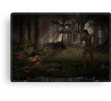 Fallen Beast Canvas Print
