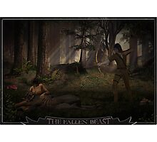 Fallen Beast Photographic Print