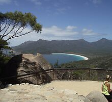 finally - the Wineglass Bay lookout by gaylene
