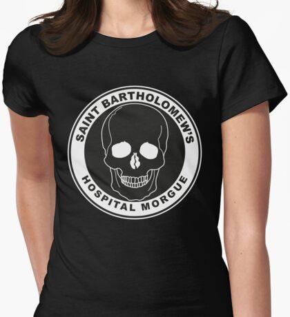 Saint Bartholomew's Hospital Morgue Womens Fitted T-Shirt