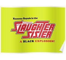 Slaughter Sister - American Horror Story: Hotel Poster
