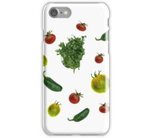 veggies iPhone Case/Skin